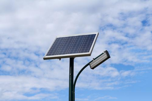 Solar light can be used in remote areas