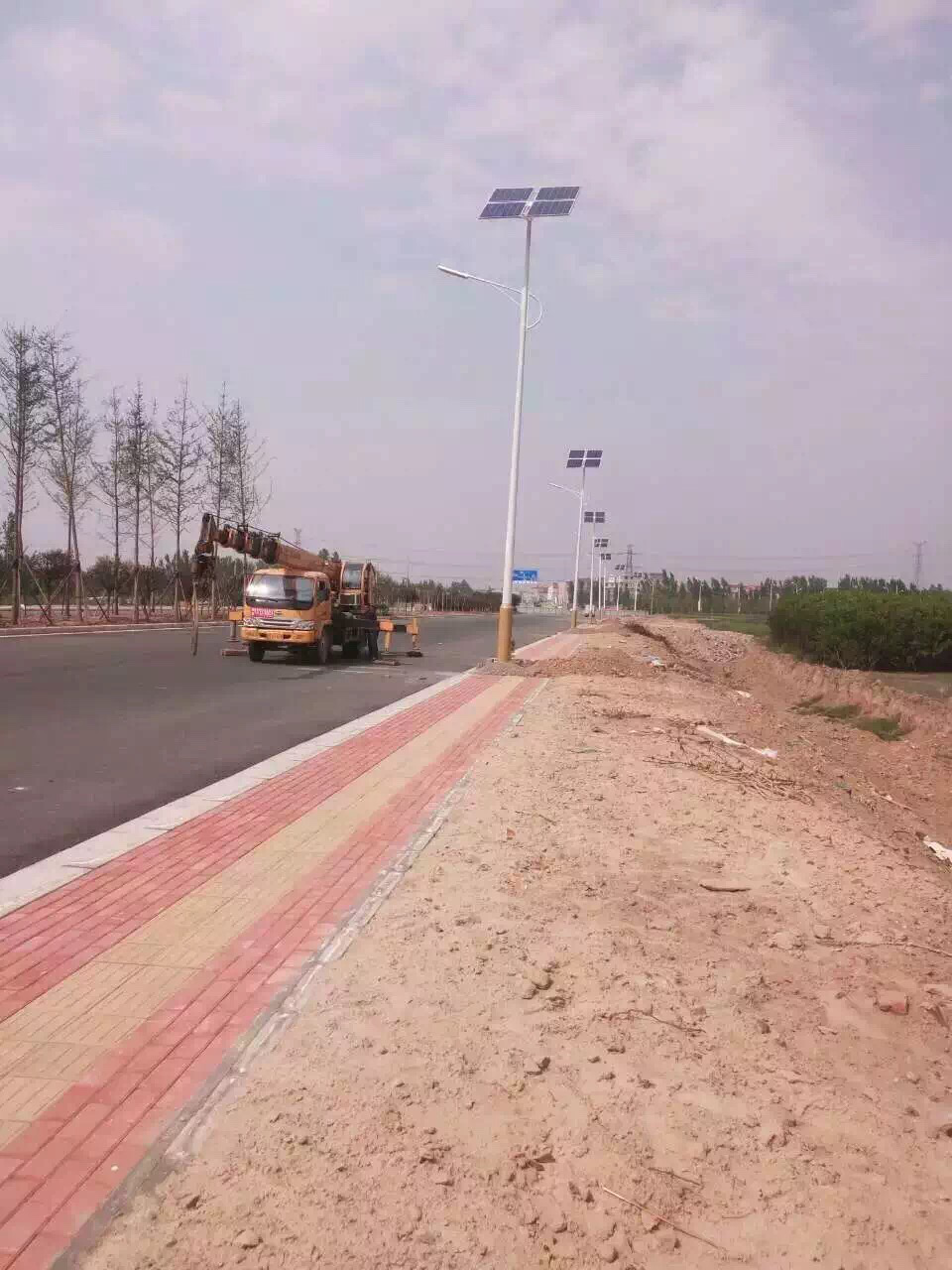 Solar Street lights projects in Xi Ning